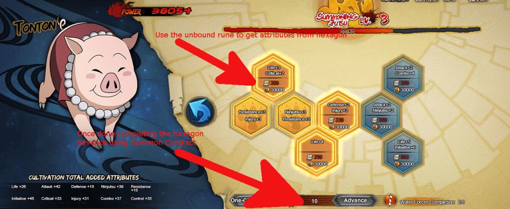 Naruto Online : Summoning Guide