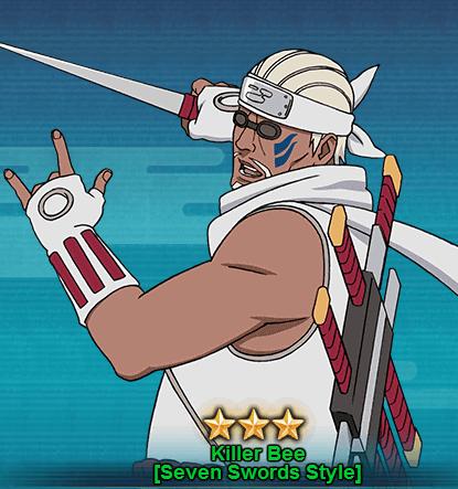 Killer Bee [Seven Swords Style] - Naruto Online