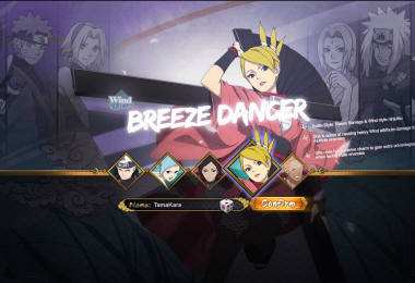 Image Result For Naruto Online Lightning Main Team Builds